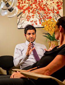 HELPING PATIENTS SMILE Manoj Bahl, DDS, is the owner of Excel Dental Studio in Merrillville.