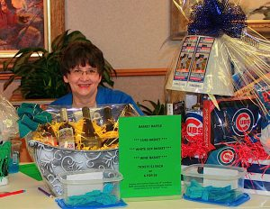 """""""I GET BACK MORE THAN I GIVE,"""" says Judy Gresko, volunteer and president of the St. Catherine Hospital Auxiliary."""