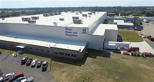 FORM AND FUNCTION Larson-Danielson Construction brought to fruition the 280,000- square-foot manufacturing plant for Alcoa/Howmet Power and Propulsion in LaPorte.