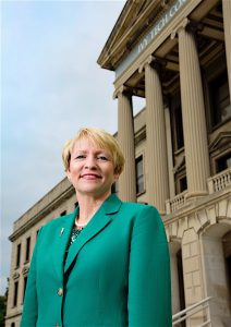 """"""" TWO-THIRDS OF NEW JOBS REQUIRE SOME KIND OF POSTSECONDARY EDUCATION,"""" says former Indiana Lt. Governor Sue Ellspermann, who became president of the statewide Ivy Tech Community College system in July."""
