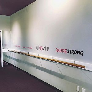 BARRE + BEYOND Boutique fitness center for a healthier holiday.