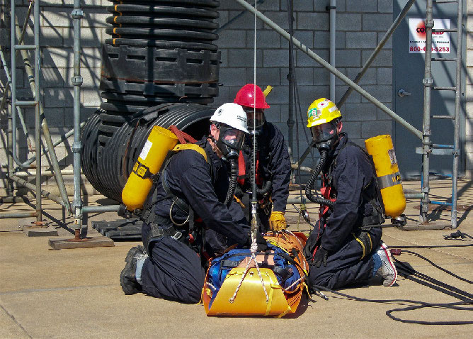 READY FOR TROUBLE Code Red Safety of Hammond specializes in equipment and services for those working in confined spaces.