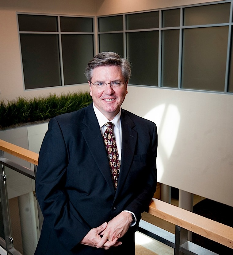 TECH TRANSFER Dan Hasler is president and chief hour. entrepreneurial officer of the Purdue Research Foundation.