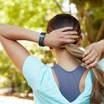 ADD A TRINKET TO HER WRIST Get a fitness activity tracker that measures steps, calories and sleep patterns.