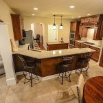 OPEN-STYLE KITCHENS Executive homebuyers also want large master suites, says David Gring of Steiner Homes Ltd., but fewer want large Jacuzzi tubs.