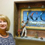"""""""GO INTO WHAT MAKES YOU HAPPY"""" Mary Lewis recently became accounting manager for In Good Company Management Services, which manages 27 top-rated rental communities."""