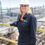 """""""Blessed"""" Michelle Layman manages business improvement at BP's Whiting Refinery."""