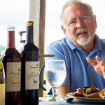 FOOD AND WINE Hank Johnson is the owner of Chaumette Vineyards and Winery.