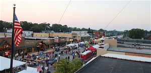 ATTRACTING MORE YOUNG PEOPLE The 2015 Rock 'N Rail Street Festival in downtown Griffith.