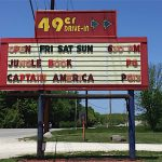 NATIONAL RECOGNITION Valparaiso's 49er made USA Today's list of the 10 best drive-in theaters.