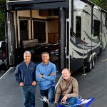 """PEOPLE WITH KNOW-HOW"" Bill Fenech, Ron Fenech and Don Clark founded Middlebury-based Grand Design RV in 2011, citing a high level of confidence in the industry, the local economy and the skills of the local workforce."