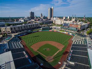 """""""BEAUTIFUL BALLPARK"""" The 8,100-capacity Parkview Field is home to the Fort Wayne TinCaps."""
