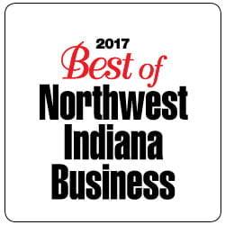 2017 Best of Northwest Indiana Business Award Logo