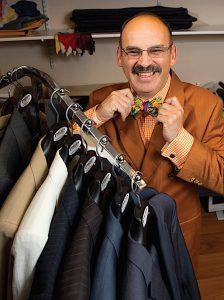 Paco Fernandez of Paco's Custom Clothiers