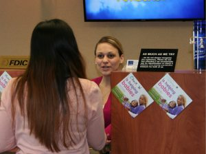 2017 Best Bank for Business Centier Bank, also recognized as Best Company to Work For, Best Bank for Obtaining a Business Loan, Best Bank for Customer Service. Pictured Milka Bastaic assists a customer in Centier's Dyer branch.