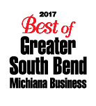 2017 Best Of South Bend and Michiana Business Logo