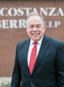 2017 Best Corporate Law Firm, Burke Constanza & Carberry, which was also named Best Law Firm for Business Acquisitions and Mergers, Best Law Firm for Litigation, Best Law Firm Specializing in Accident and Injury and Best Estate-Planning Practice. Pictured is Managing Partner George Carberry.