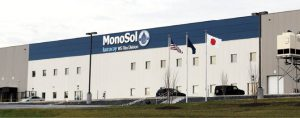 MonoSol manufacture of water-soluble files headquartered in Merrillville is expanding their DuneLand facility in Portage to increase their output by 15% and move to 24-hour, seven-days-a-week operations.