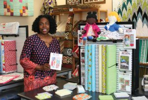 "Ginger Stout, owner of Spiceware Sewing Center, attributes her success to a strong work ethic, integrity and ""not being afraid to take the next step."""