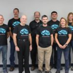 Arconic Power and Propulsion, La Porte Engineering Team—Back Row (L to R): Ryan Garwood, Bob Gifford, Chris Kraynak, Josh Smith, Nancy Bailey, and David Miller Front Row (L to R): Mike Pillow, Byron Marben, Ethan Ramey, and Kelly Hague Not Pictured: Andy Sickinger, Shane Wright, Jody Warner, and Nathan Rarick