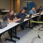 Five manufacturers and Ivy Tech collaborated on a pilot program to train employees onsite in training space at the Winamac Coil Spring plant in Pulaski County.