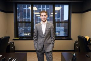 Seth Spencer, E-Day's Young Entrepreneur of the Year,