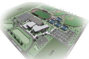 Illiana Christian High School aerial-view