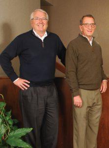 Terry Larson and Tim Larson
