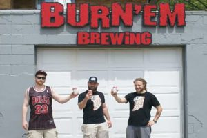 Michigan City-based Burn 'Em Brewing