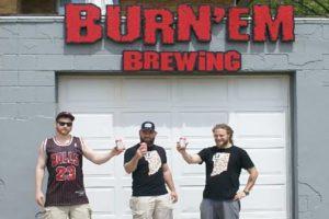 Michigan City-based Burn 'Em Brewing