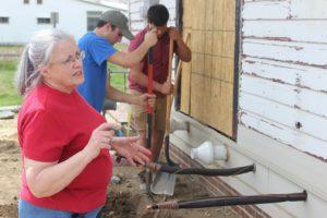 Barbara Biernat, building trades program, Porter County Career and Technical Center
