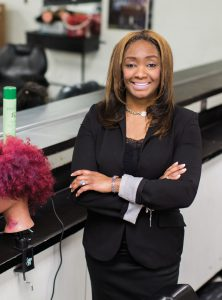 Dionne Bass-Grady, cosmetology instructor at the Gary Area Career Center
