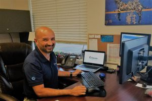 Chris Kotul, division manager at Chester Inc.