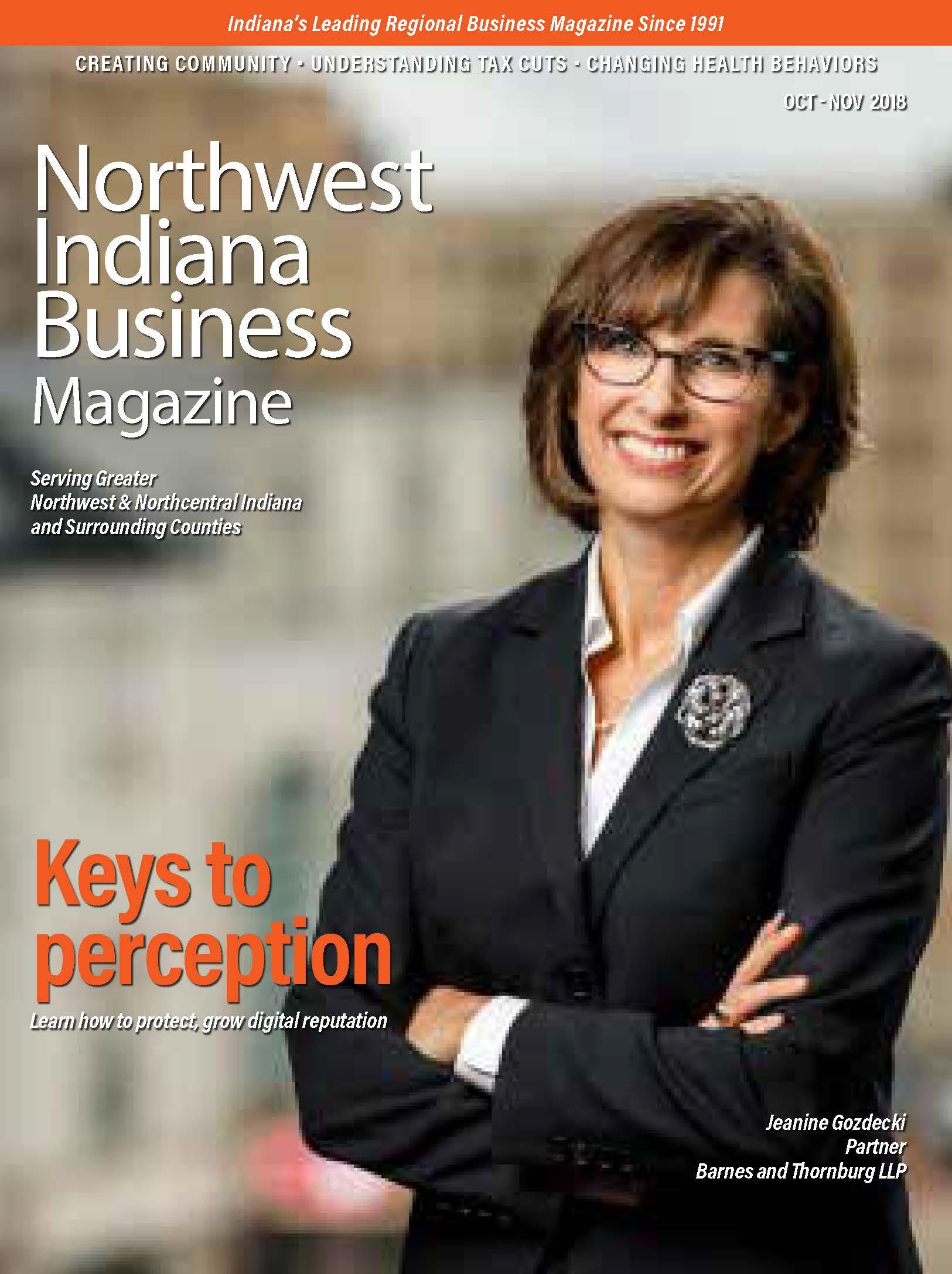 Northwest Indiana Business Magazine - Oct-Nov 2018 issue