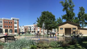 Founders Square Splash Pad