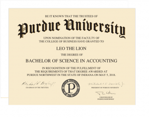 Purdue University name will remain prominent feature on diplomas awarded at satellite campuses
