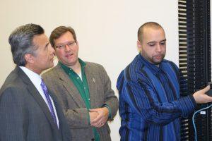 Chancellor Louie Gonzalez, Matt Cloud
