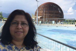 Neeti Parashar, a physics professor at Purdue University Northwest