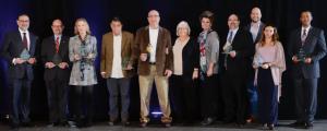 The 2018 Entrepreneurial Excellence (E-Day) Award honorees