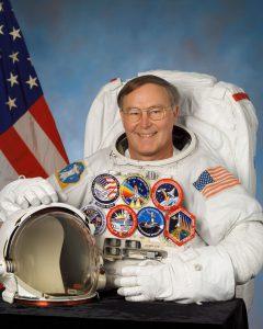 Retired astronaut Jerry Ross