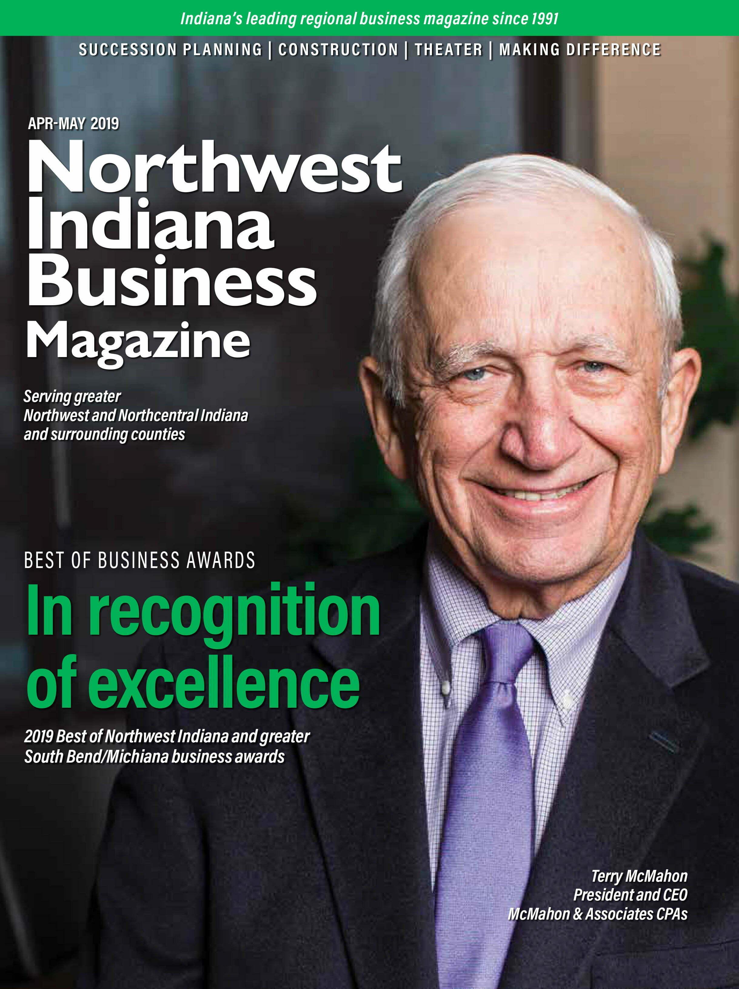 Northwest Indiana Business Magazine Apr-May 2019 issue