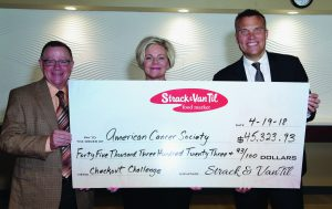 Strack & Van Til presents American Cancer Society with roundup donation