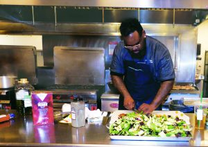 Executive Chef Lamar Moore
