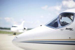 Hawker jet