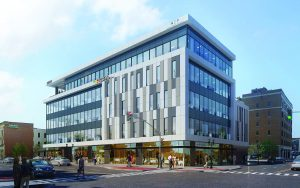 Barnes & Thornburg LLP is building a new five-story office building