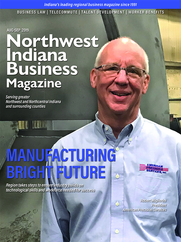 Northwest Indiana Business Magazine Aug-Sep 2019 issue