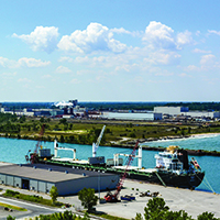 Port of Indiana-Burns Harbor a logistics leader