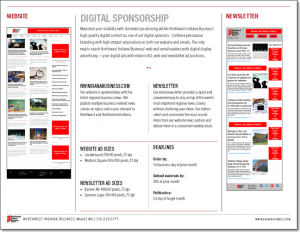 Northwest Indiana Business Magazine Digital Sponsorships