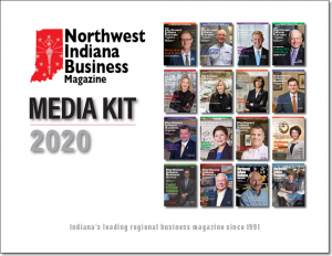 2020 Northwest Indiana Business Magazine Media Kit cover image