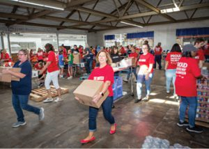 Enbridge packs boxes for United Way
